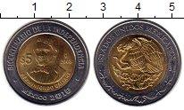 Изображение Монеты Мексика 5 песо 2008 Биметалл UNC- 200-летие независимо