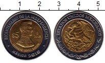 Изображение Монеты Северная Америка Мексика 5 песо 2008 Биметалл UNC-