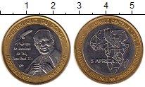 Изображение Монеты Конго 4500 франков 2007 Биметалл UNC-