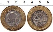 Изображение Монеты Северная Америка Мексика 20 песо 2013 Биметалл UNC-