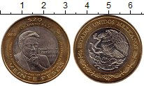 Изображение Монеты Мексика 20 песо 2010 Биметалл UNC-