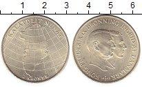 Изображение Монеты Дания 2 кроны 1953 Серебро UNC-