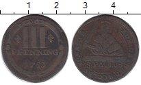 Изображение Монеты Германия Мюнстер 3 пфеннига 1753 Медь XF-