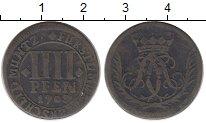 Изображение Монеты Германия Мюнстер 4 пфеннига 1703 Медь XF-