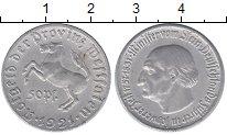 Изображение Монеты Вестфалия 50 пфеннигов 1921 Алюминий XF