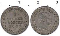Изображение Монеты Пруссия 1/2 гроша 1862 Серебро XF