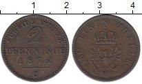 Изображение Монеты Пруссия 2 пфеннига 1872 Медь XF