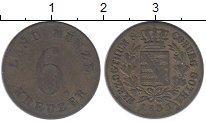 Изображение Монеты Германия Саксе-Кобург-Гота 6 крейцеров 1830 Серебро XF