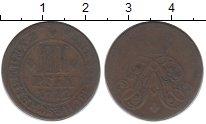 Изображение Монеты Германия Мюнстер 3 пфеннига 1712 Медь XF-