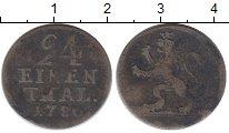 Изображение Монеты Гессен-Кассель 1/24 талера 1786 Серебро VF