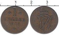 Изображение Монеты Гессен-Кассель 1 геллер 1818 Медь XF-