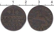 Изображение Монеты Брауншвайг 1 пфенниг 1819 Медь XF-