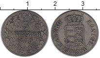 Изображение Монеты Германия Вюртемберг 3 крейцера 1839 Серебро XF