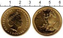 Изображение Мелочь Австралия 1 доллар 2013 Латунь UNC Животные Австралии