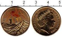 Изображение Монеты Австралия 1 доллар 2014 Латунь UNC Муравей