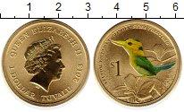 Изображение Монеты Австралия 1 доллар 2013 Латунь UNC Птицы Австралии