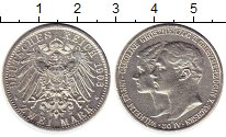 Изображение Монеты Германия Саксония 2 марки 1903 Серебро XF