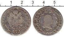 Изображение Монеты Европа Австрия 20 крейцеров 1803 Серебро VF