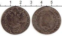 Изображение Монеты Европа Австрия 20 крейцеров 1808 Серебро VF