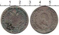 Изображение Монеты Австрия 20 крейцеров 1822 Серебро XF-