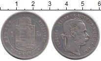 Изображение Монеты Венгрия 1 форинт 1877 Серебро XF-