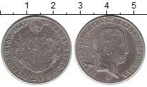 Изображение Монеты Венгрия 20 крейцеров 1845 Серебро XF