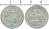 Изображение Монеты Брауншвайг-Люнебург Брауншвайг-Люнебург 1752 Серебро XF+