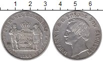 Изображение Монеты Германия Саксония 1 талер 1864 Серебро XF