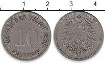 Изображение Монеты Германия 10 пфеннигов 1889 Медно-никель XF-