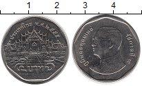 Изображение Дешевые монеты Таиланд 5 бат 2010 Медно-никель UNC