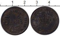 Изображение Монеты Европа Румыния 5 лей 1942 Цинк XF-