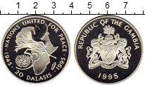 Изображение Монеты Африка Гамбия 20 даласи 1995 Серебро Proof