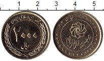 Изображение Мелочь Иран 2000 риалов 2012 Медно-никель UNC-