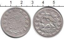 Изображение Монеты Азия Иран 2000 динар 1911 Серебро XF-