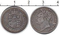 Изображение Монеты Европа Великобритания 1 шиллинг 1824 Серебро XF-