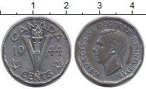 Изображение Монеты Канада 5 центов 1944 Хром XF