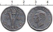 Изображение Монеты Северная Америка Канада 5 центов 1944 Хром XF