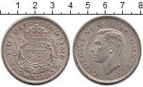 Изображение Монеты Европа Великобритания 1 крона 1937 Серебро UNC-