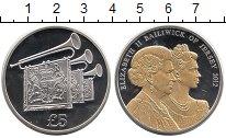 Изображение Монеты Великобритания Остров Джерси 5 фунтов 2012 Серебро Proof-