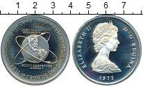 Изображение Монеты Великобритания Теркc и Кайкос 20 крон 1975 Серебро Proof-
