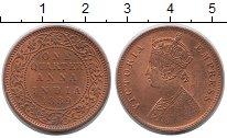 Изображение Монеты Азия Индия 1/4 анны 1889 Бронза UNC-