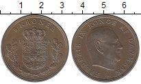 Изображение Монеты Европа Дания 5 крон 1968 Медно-никель XF