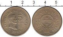 Изображение Монеты Филиппины 5 песо 2005 Латунь UNC-