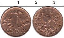 Изображение Монеты Колумбия 1 сентаво 1969 Бронза XF