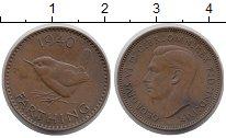 Изображение Монеты Европа Великобритания 1 фартинг 1940 Бронза XF