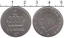 Изображение Монеты Норвегия 1 крона 1979 Медно-никель UNC-