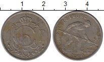 Изображение Монеты Европа Люксембург 1 франк 1946 Медно-никель VF
