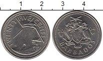 Изображение Монеты Барбадос 25 центов 2004 Медно-никель XF
