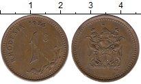 Изображение Монеты Родезия 1 цент 1976 Бронза XF