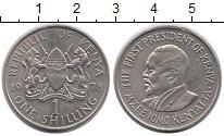 Изображение Монеты Кения 1 шиллинг 1978 Медно-никель UNC-